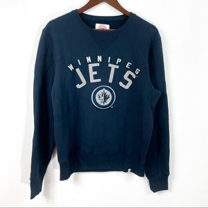 47 Brand Winnipeg Jets Logo Sweatshirt